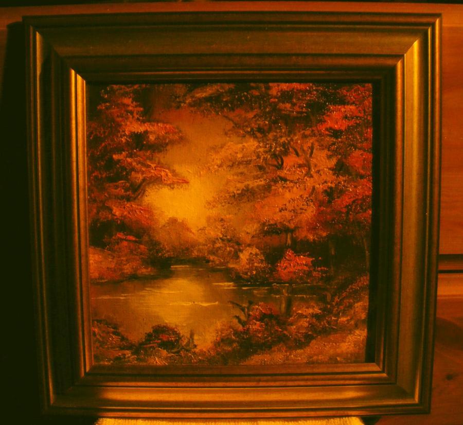 Picturi de toamna Toamna pe ape