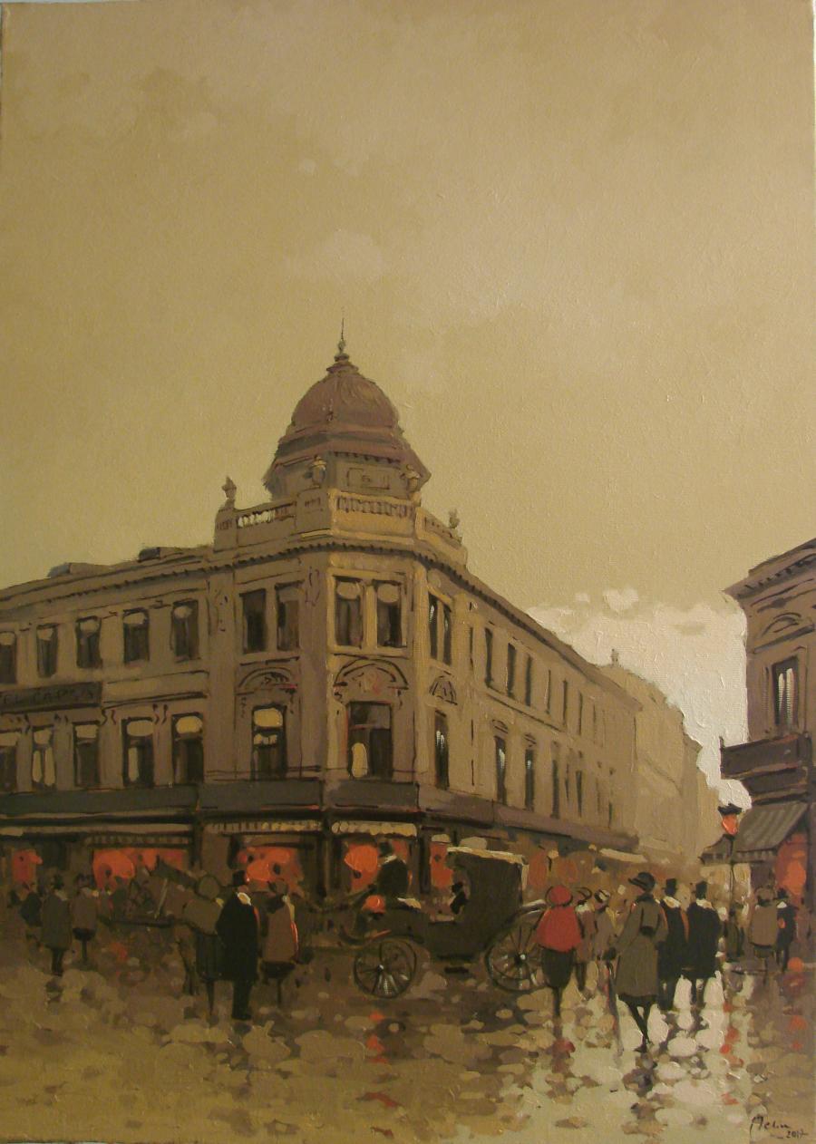 Picturi de toamna Capsa vechiului Bucuresti