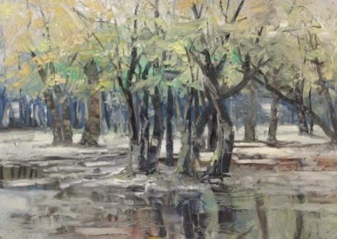 Picturi de toamna Delta infrigurata