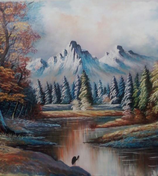 Picturi de toamna Toamna tarzie
