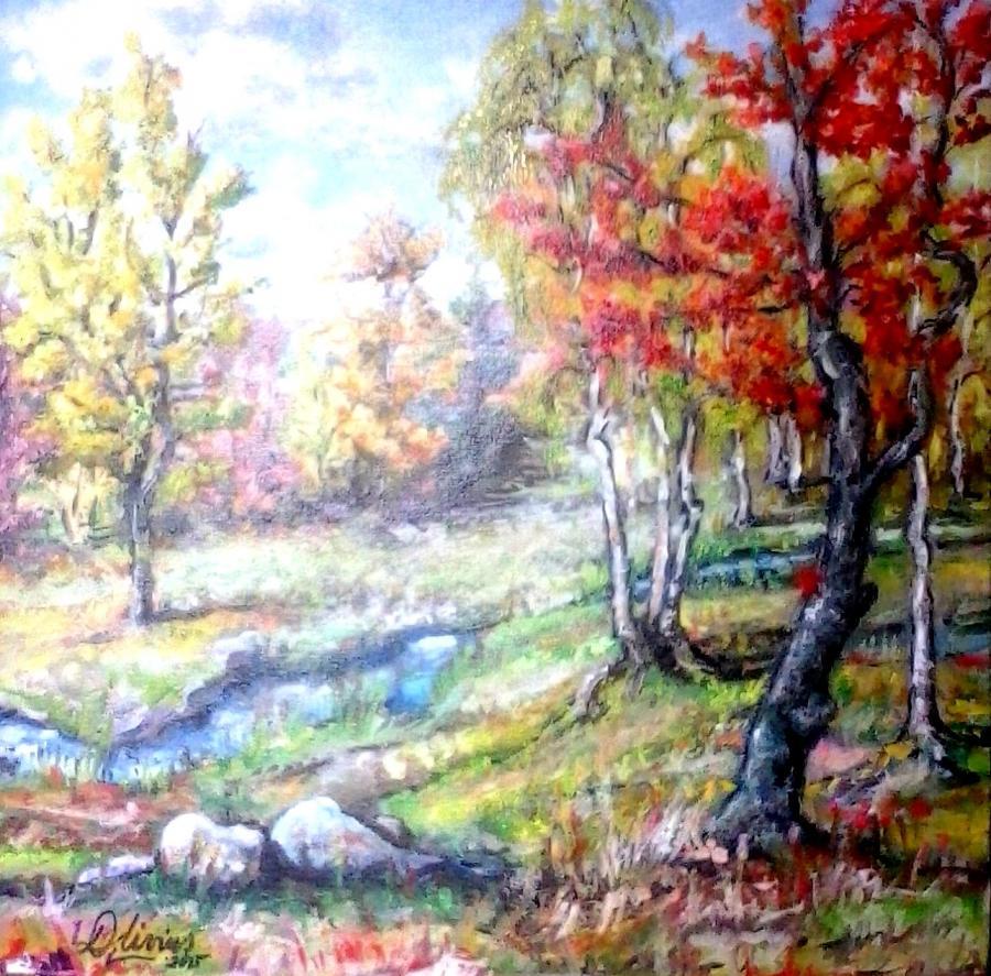 Picturi de toamna Armonie de toamna