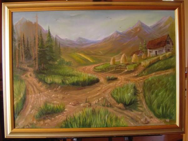 Picturi de toamna Casa la munte