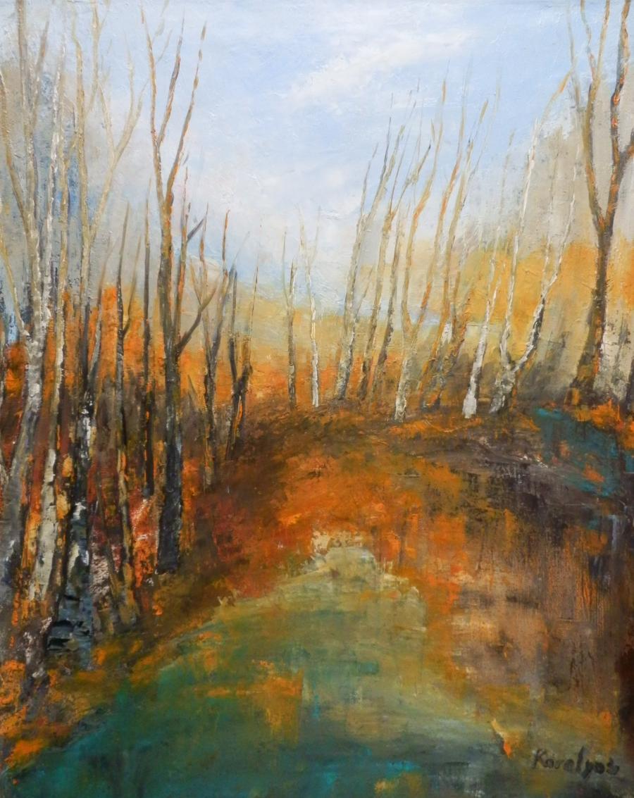 Picturi de toamna Arbori