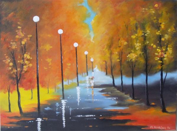 Picturi de toamna Toamna in parc