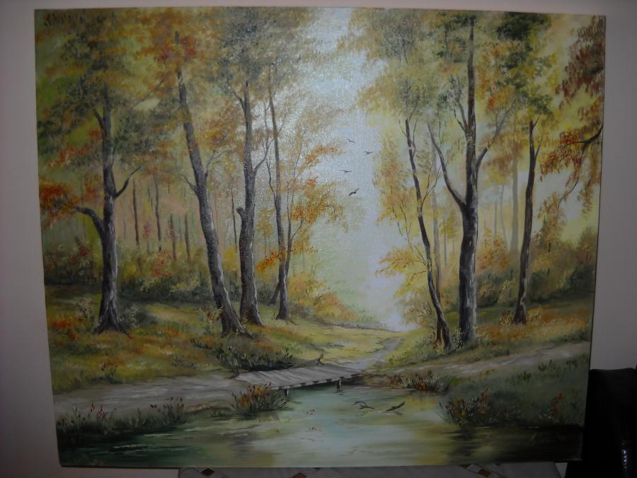 Picturi de toamna Culorile toamnei in padure