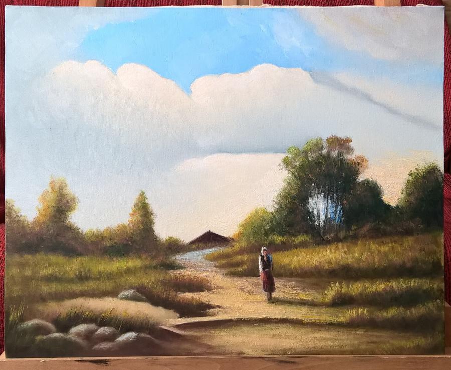 Picturi de toamna toamna pustie1900