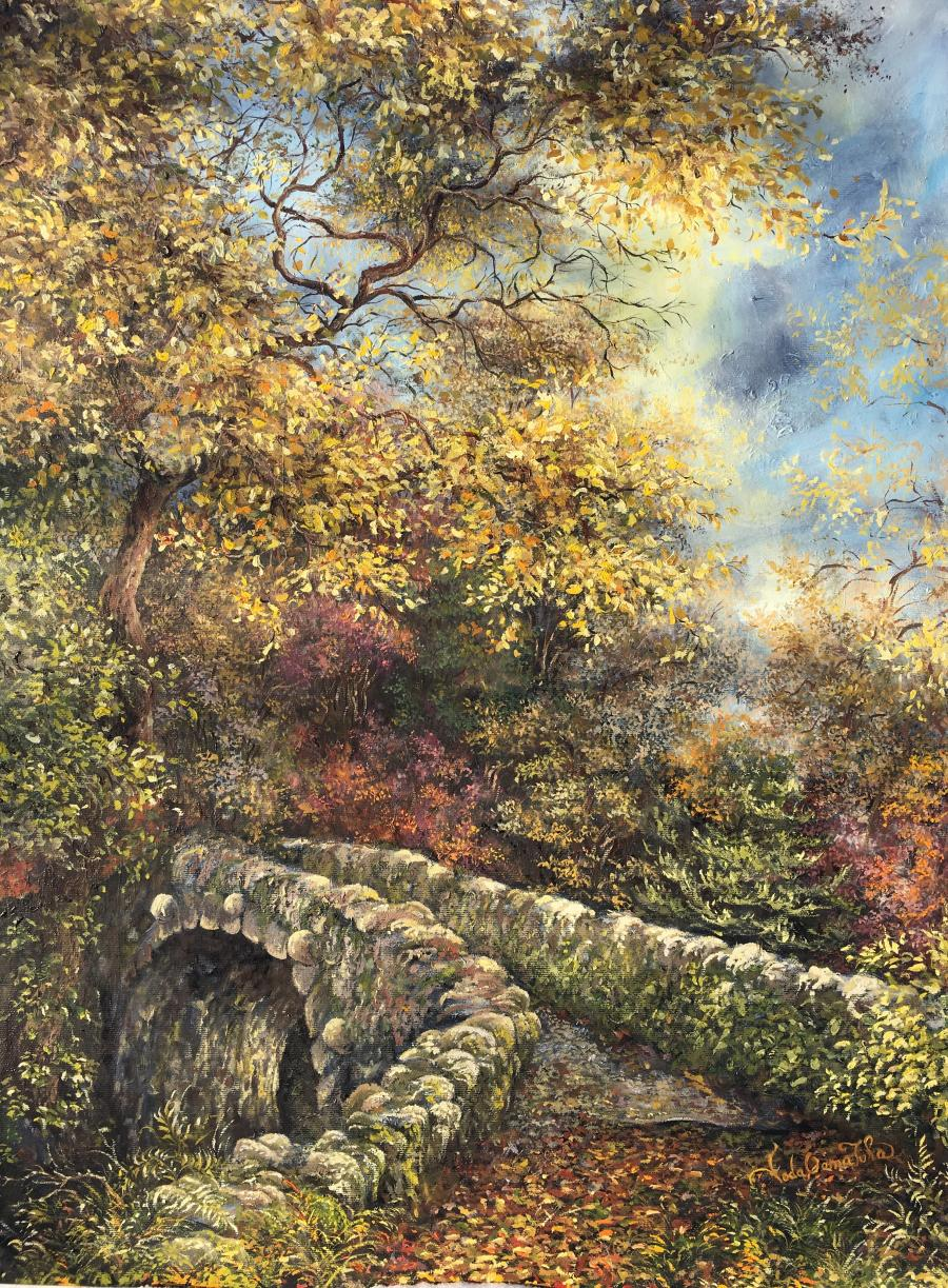 Picturi de toamna Golden woods