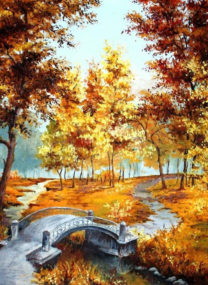 Picturi de toamna Parcul toamna