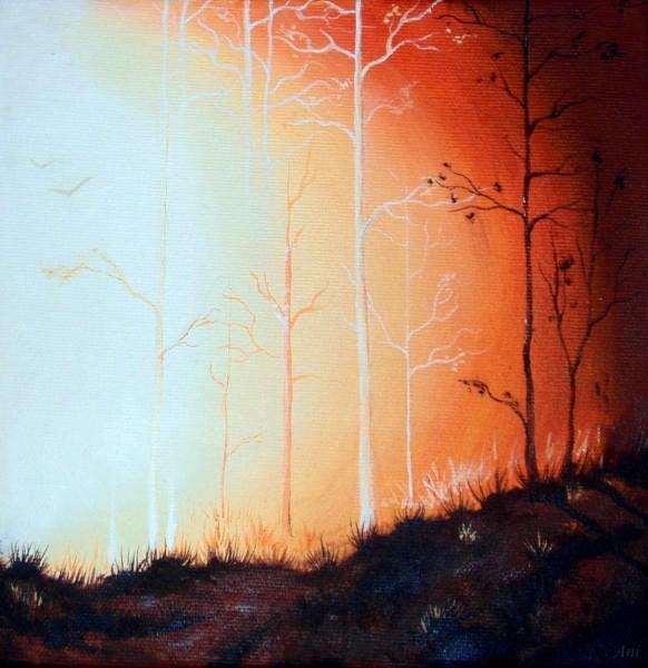 Picturi de toamna Lumina autumnala