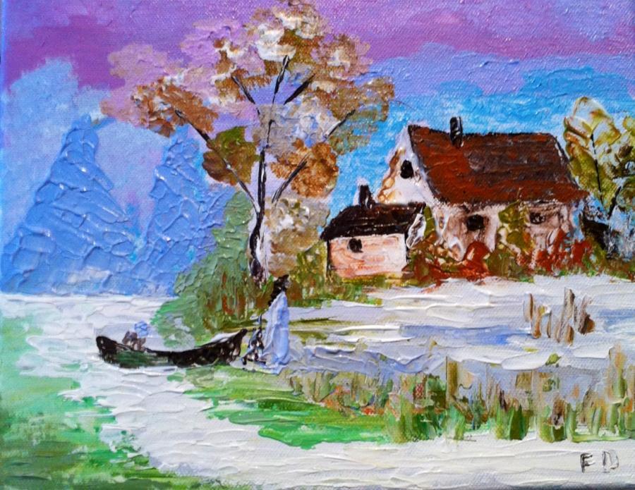 Picturi de toamna Toamna la canton