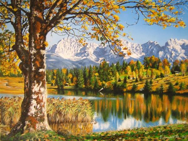 Picturi de toamna Frumoasa bavaria germania