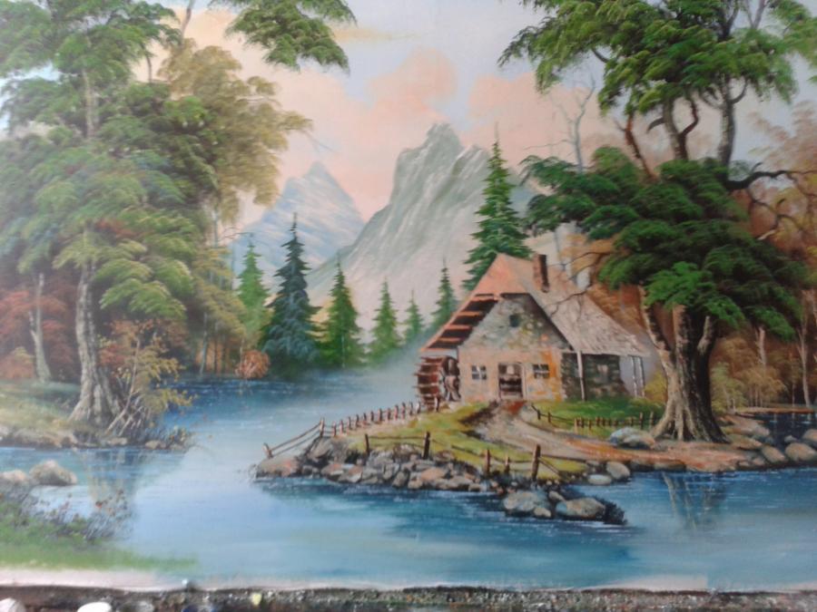 Picturi de toamna cabana 3