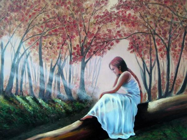 Picturi de toamna Singuratate