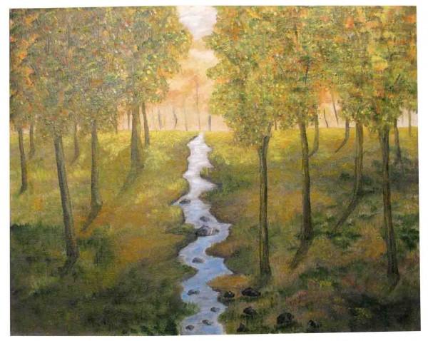 Picturi de vara Prin mijlocul padurii
