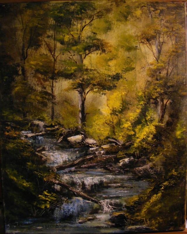 Picturi de vara Susurul apei