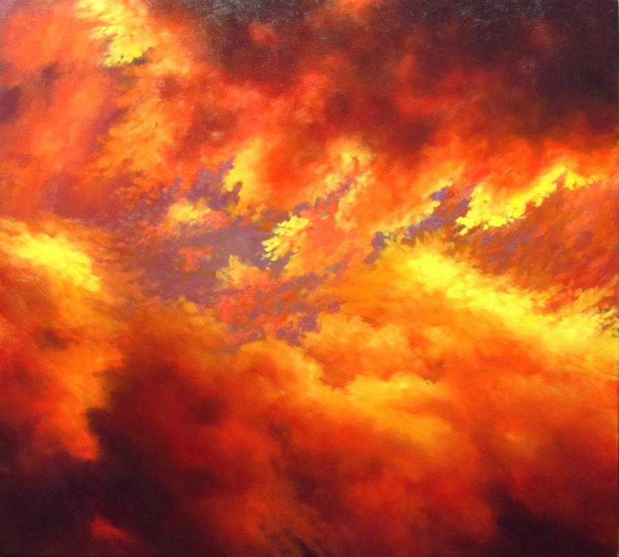 Picturi de vara cer arzand
