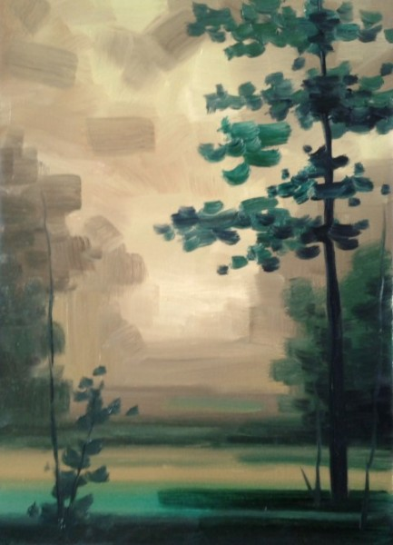 Picturi de vara Furtuna