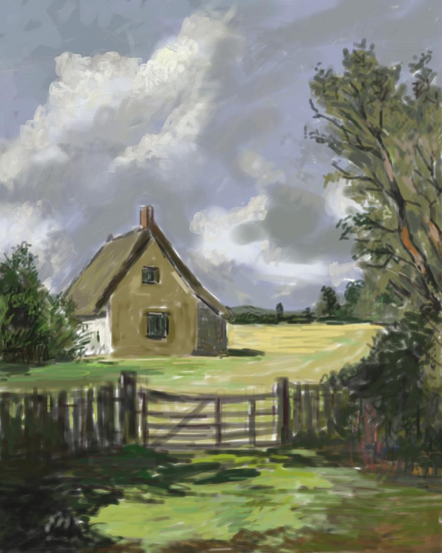 Picturi de vara peisaj vara 15
