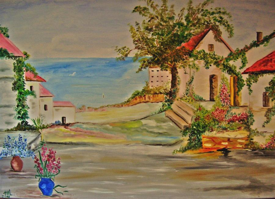 "Picturi de vara ""Undeva la mare """