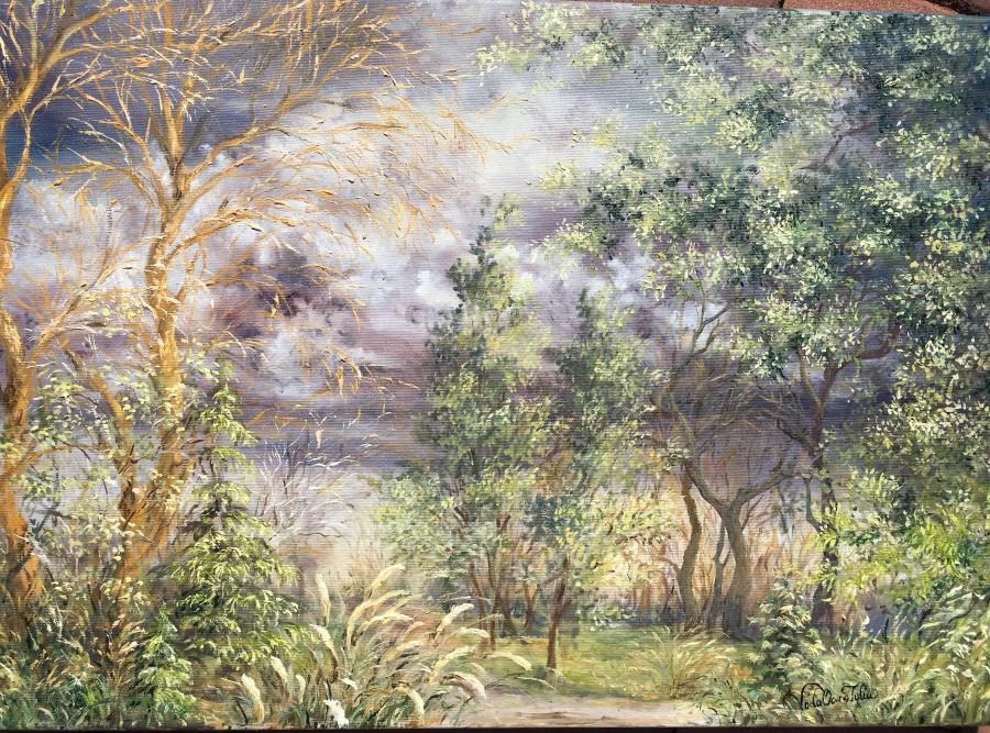 Picturi de vara Inaintea furtunii
