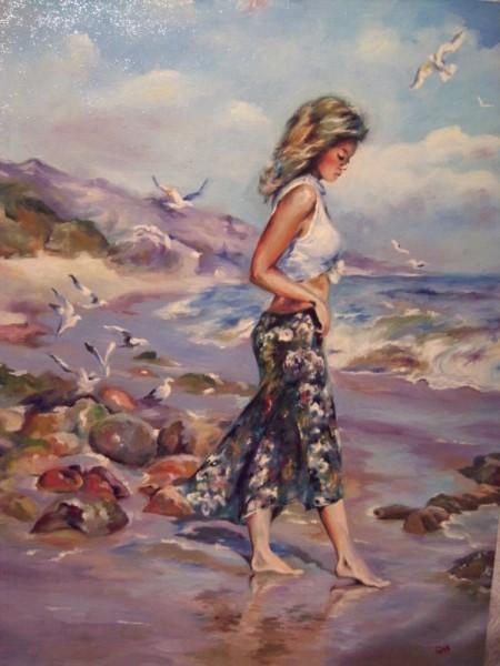 Picturi de vara Pe plaja