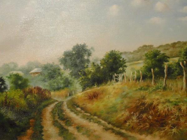 Picturi de vara Pe ulitele satului 1