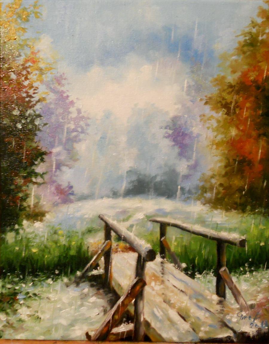 Picturi de vara rain 2