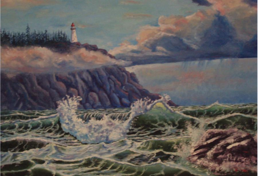 Picturi de vara Inceput de Furtuna