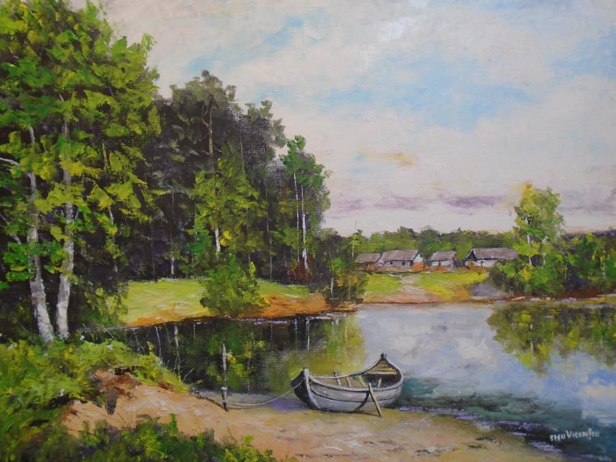 Picturi de vara Glasul verii