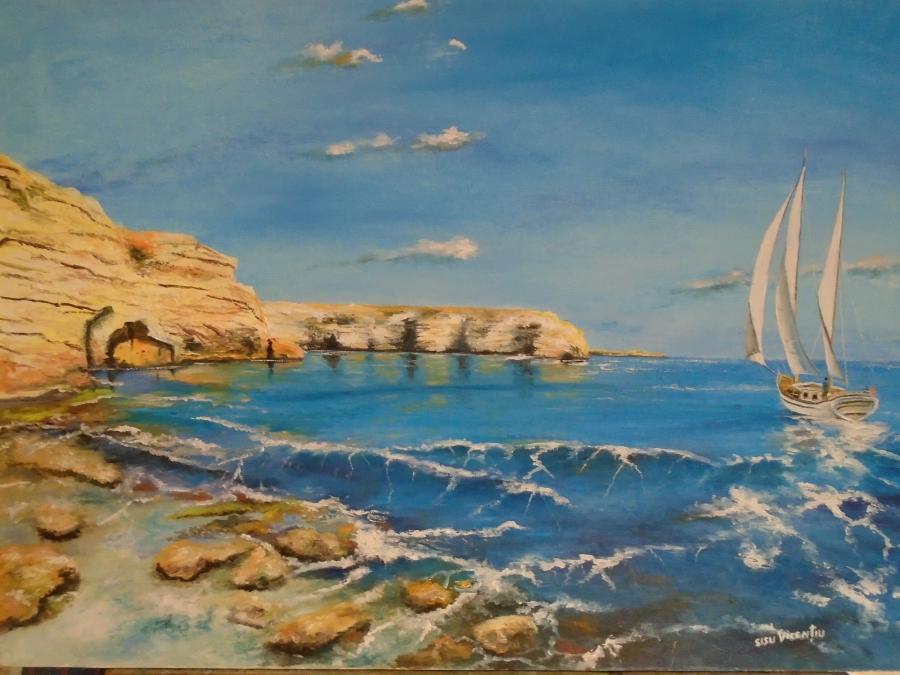 Picturi de vara lumina de turcoaz ...