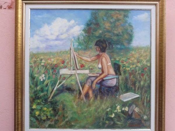 Picturi de vara La pictat
