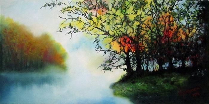 Picturi de vara Magia naturii