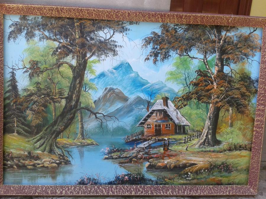 Picturi de vara cabanuta
