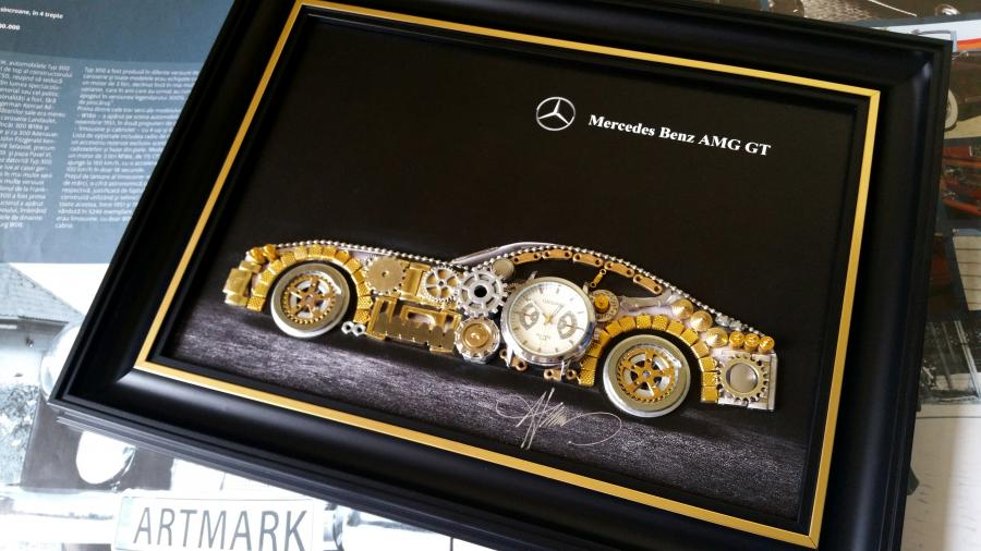 Picturi decor Mercedes Benz AMG GT Cod M 114