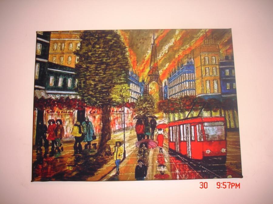 Picturi decor Streets of Paris
