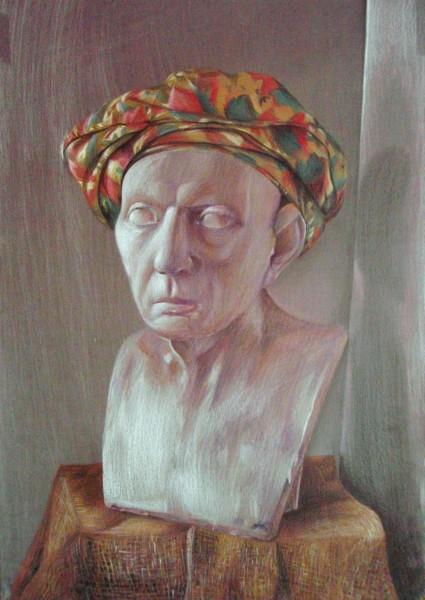 Picturi decor Ghips cu turban