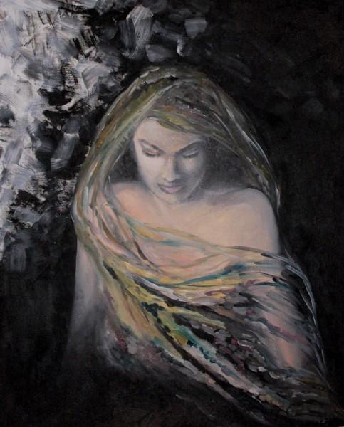 Picturi decor Val pictat