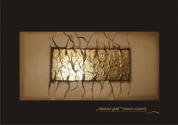 Picturi decor Abstract gold