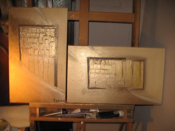 Picturi decor Golden way