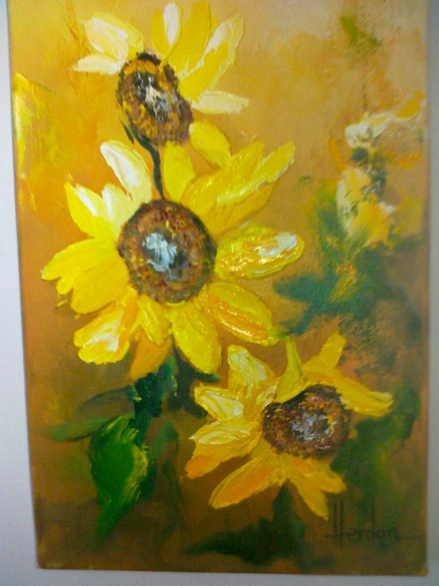 Picturi decor FLOREA SOARELUI 3