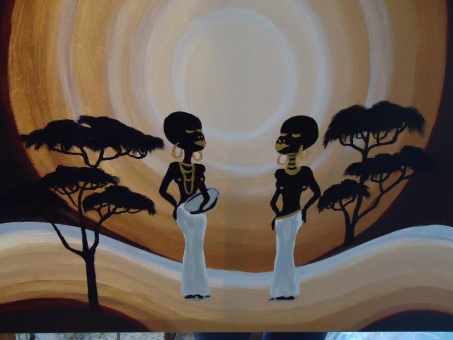 Picturi decor africana cod 0078.1