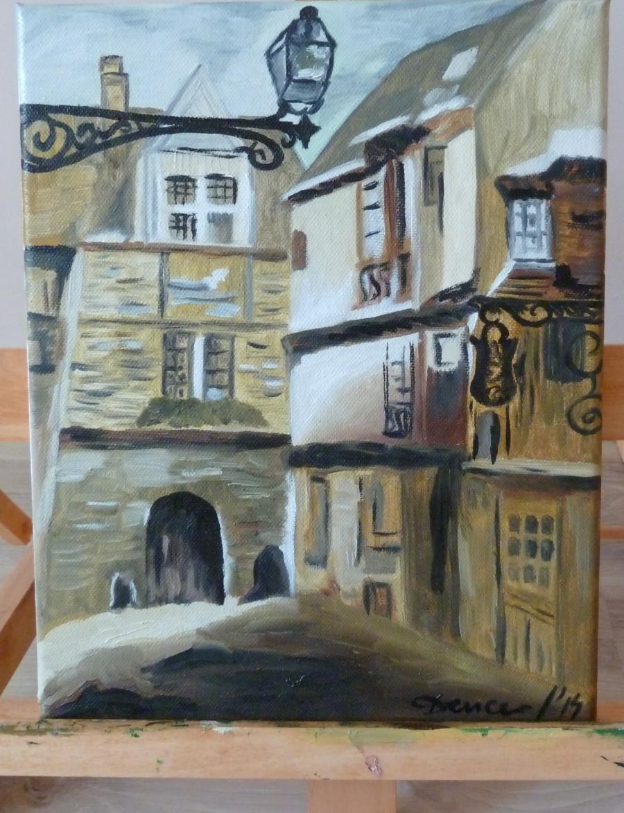 Picturi decor Oras vechi
