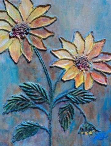 Picturi decor Floarea soarelui