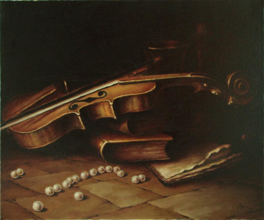 Picturi decor natura statica cu perle