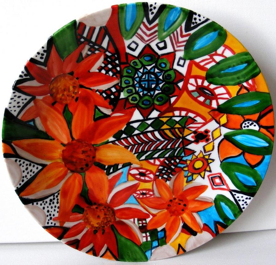 Picturi decor Ceramica pictata 5