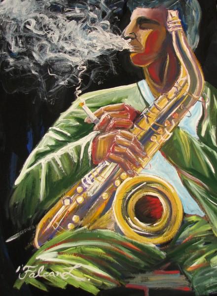 Picturi decor Fum si muzica