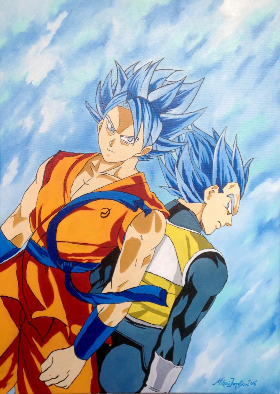 Picturi decor Personaje Manga - Goku & Vegeta