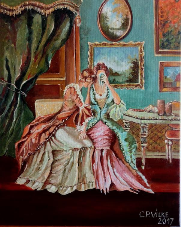 Picturi decor Ladies