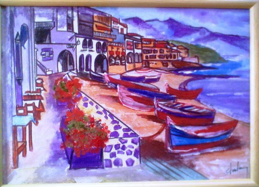 Picturi decor Greece