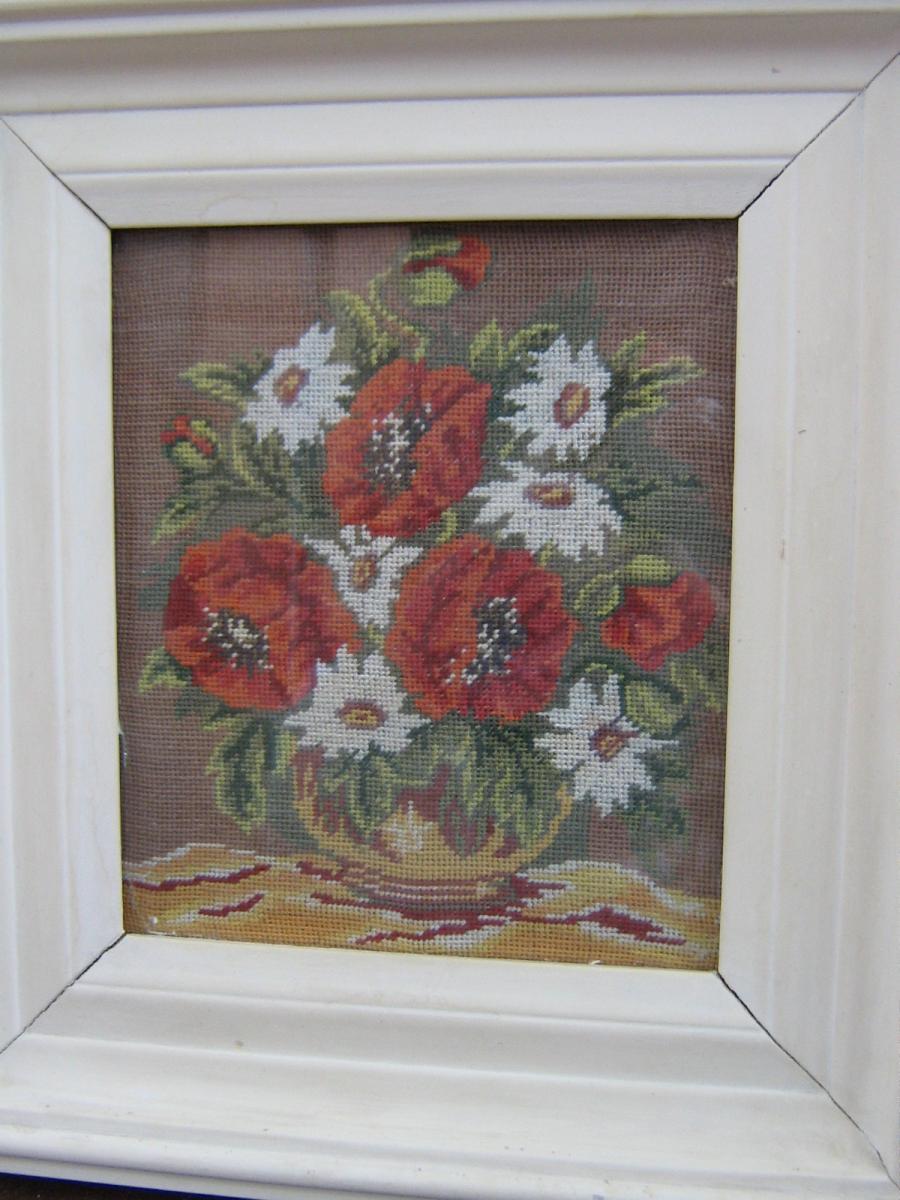 Picturi goblen Flori de mac